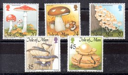 Serie De Isla De Man N ºYvert 688/92 ** SETAS (MUSHROOMS) - Isla De Man