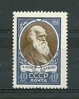 URSS. 1959. Neuf. Sesquicentenaire De La Naissance De Charles Darwin - Unused Stamps