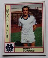 Vignette Autocollante Figurine Panini Football 80 équipe De Marseille Robert Buigues N°145 - Panini