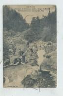 Châteauroux-les-Alpes (05) : Touristes à La Cascade De La Pisse En 1905 (animé) PF. - Autres Communes