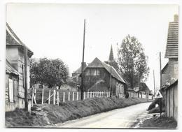 Cpsm: 27 LE COUDRAY EN VEXIN (ar. Les Andelys) Le Village (carte Photo) - Frankrijk