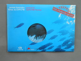 Postal Stationery, Expo 98 Lisboa, Mermaid, Mythology, Ocean, Fish, Camera - Universal Expositions