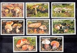 Serie De Tanzania N ºYvert 2532/39 ** SETAS (MUSHROOMS) - Tanzania (1964-...)