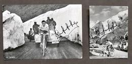 Sport Ciclismo - Lotto 2 Fotografie Di Fausto Coppi - Anni '50 - Non Classés