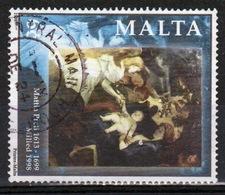 Malta 1998 Single 6c Stamp To Celebrate Christmas Paintings. - Malta