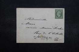 FRANCE - Carte De Professeur De Piano De Montmartre Pour Paris , Affranchissement Napoléon Non Oblitéré - L 32616 - Poststempel (Briefe)