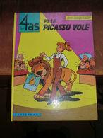 Bd -les 4 As - Et Le Picasso Volé - 1974 - - 4 As, Les