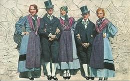 Ragazze E Ragazzi In Costume Ottocentesco, Riproduzione A20, Reproduction - Costumi