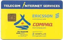 Hong Kong - ITU Telecom Asia 2000 Presentation Card - Hong Kong