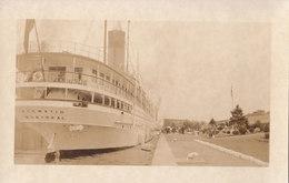 RPPC REAL PHOTO POSTCARD SS KEEWATIN MONTREAL - Montreal