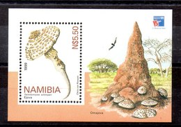 Hoja Bloque De Namibia N ºYvert 56 ** SETAS (MUSHROOMS) - Namibia (1990- ...)