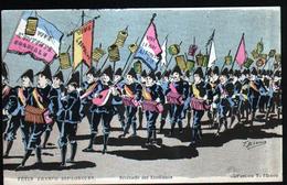Illustrateur T. Bianco, Fetes Franco-espagnoles, Serenade Des Etudiants - Shepheard