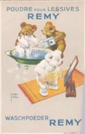 Reclame - Publicité - Carte Publicitaire : Poudre Pour Lessives Remy - Illustrateur Lawson Wood (lot Pat 76) - Reclame