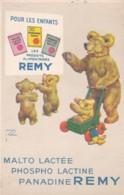 Reclame - Publicité - Carte Publicitaire : Les Produits Alimentaires Remy - Illustrateur Lawson Wood (lot Pat 76) - Reclame
