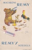Reclame - Publicité - Carte Publicitaire : Macaroni Remy - Illustrateur Lawson Wood (lot Pat 76) - Reclame