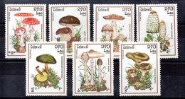 Serie De Laos Nº Yvert 633/39 ** SETAS (MUSHROOMS) - Laos
