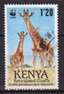 Kenya 1989 Single 1.20  Stamp To Celebrate The Reticulated Giraffe. - Kenya (1963-...)