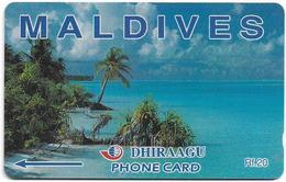 Maldives - Beach - 109MLDB (Normal 0, 27mm Long), Used - Maldives