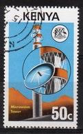 Kenya 1976 Single 50c  Stamp To Celebrate Telecommunications. - Kenya (1963-...)