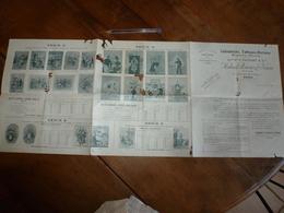 1899 :Calendriers,Tableaux,Réclame,Etiquettes,Affiches -Ancne Maison V. Palyart & Cie - Haberer,Plouviez & Douin à Paris - 1800 – 1899