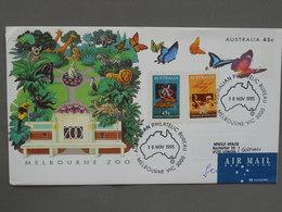 Postal Stationery, Butterfly, Zoo - Schmetterlinge