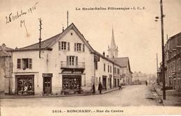 Ronchamp  70   La Rue Du Centre  Animée -Bazar De L'Est - France