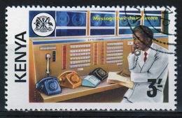 Kenya 1976 Single 3s  Stamp To Celebrate Telecommunications. - Kenya (1963-...)