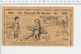 2 Scans Humour Métier Chiffonnier Bretelles Choux De Bruxelles Chou Frisé Légume Naissance Enfant Gros Pain 226X - Unclassified