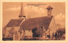 ¤¤  -   FONTAINES-les-GRES    -   L'Eglise   -   ¤¤ - France