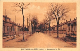 ¤¤  -   FONTAINES-les-GRES    -   Avenue De La Gare   -   ¤¤ - France