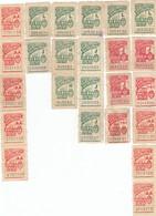 12544-LOTTICINO N°. 24 MARCHE DA BOLLO FISCALI ARGENTINA - Argentina