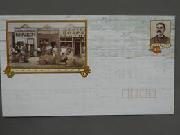 Postal Stationery, Camel, Newspaper, Watch, Desert, Gold - Briefmarken