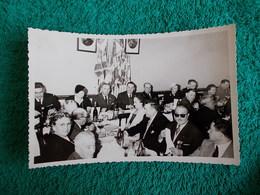 PHOTO ORIGINALE.ANCIENS COMBATTANTS.UNION DES MEDAILLES.CONGRES DE HYERES.1958. - 1939-45