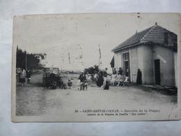 """CPA 44 LOIRE ATLANTIQUE - ST BREVIN L'OCEAN : Buvette De La Plage - Annexe De La Pension De Famille """"Mes Lutins"""" - Saint-Brevin-l'Océan"""