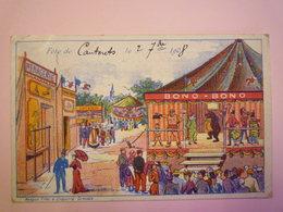 2019 - 1686  CAUTERETS  :  Fête De Cauterets Le 2  Septembre 1908  -  RARE  X - Cauterets