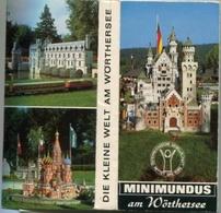 MINIMUNDUS AM WORTHERSEE, 20 COLOR POSTAL, PHOTOSET AUSTRIA CPA NOT CIRCULATED CIRCA 1970's -LILHU - Austria