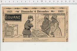 2 Scans Humour Métier Douanier Douane Jeu Joueurs De Cartes Manille Bataille Eau De Vichy Publicité Cinéma Judex  226X - Unclassified