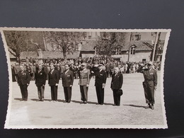 PHOTO ORIGINALE.ANCIENS COMBATTANTS.UNION DES MEDAILLES.CONGRES DE MENDE.1956. - 1939-45