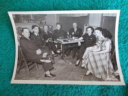 PHOTO ORIGINALE.ANCIENS COMBATTANTS.UNION DES MEDAILLES.CONGRES DE MARSEILLE. - 1939-45