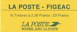 France Carnet Usage Courant N°2614-CP1, FIGEAC (émission Locale), RARE - Usage Courant
