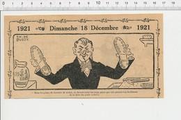 2 Scans Humour Numismatique Pièces Monnaie De Nickel Pièce Trouée Chaussures Ferrées Pieds Nickelés Métier égoutier 226X - Unclassified