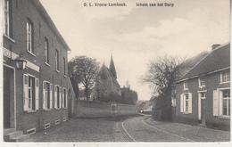O.L. Vrouw-Lombeek - Inkom Van Het Dorp - 1913 - Uitg. E. Linthout-Cardoen - Roosdaal
