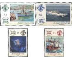 Ref. 286851 * MNH * - SEYCHELLES. Zil Elwannyen Sesel. 1988. TRICENTENARIO DE LA COMPAÑIA DE SEGUROS LLOYD - Seychelles (1976-...)