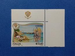 2007 ITALIA FRANCOBOLLO NUOVO STAMP NEW CON APPENDICE BANDELLA STEMMA REGIONI SARDEGNA REGIONE - 1946-.. République