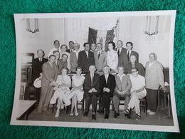 PHOTO ORIGINALE.ANCIENS COMBATTANTS.UNION DES MEDAILLES.MARSELLE 1961 - 1939-45