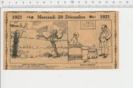2 Scans Humour Après Grande Guerre Fil Barbelé Plante Rosier Cresson Santé Du (corps) Cor Au Pied 226X - Unclassified