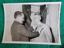 PHOTO ORIGINALE.ANCIENS COMBATTANTS.UNION DES MEDAILLES.MARSEILLE 1961 - 1939-45