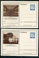 Bundesrepublik Deutschland / 1962 / 2 Bildpostkarten > GELSENKIRCHEN ** (18181) - Illustrated Postcards - Mint