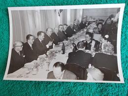 PHOTO ORIGINALE.ANCIENS COMBATTANTS.UNION DES MEDAILLES.MARSEILLE 1958 - 1939-45