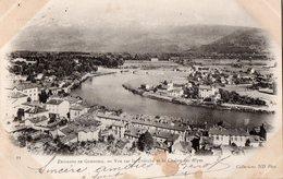 GRENOBLE  Les Environs  Vue De La Tronche Et La Chaine Des Alpes - - Grenoble